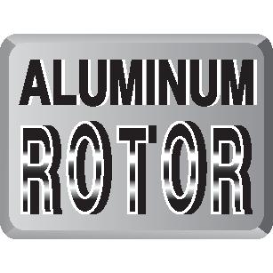 aluminum-rotor