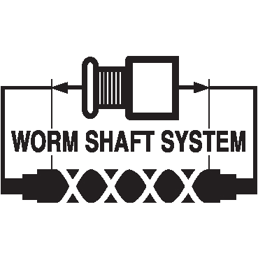 worm-shaft-system