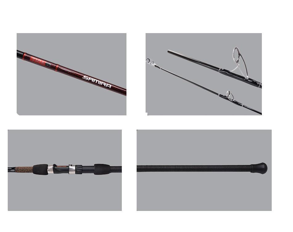 TICA UEHD Samira Surf Fishing Rod Series